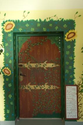 magiczne wejście do biblioteki