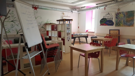 przestrzeń zaprojektowana dla uczniów
