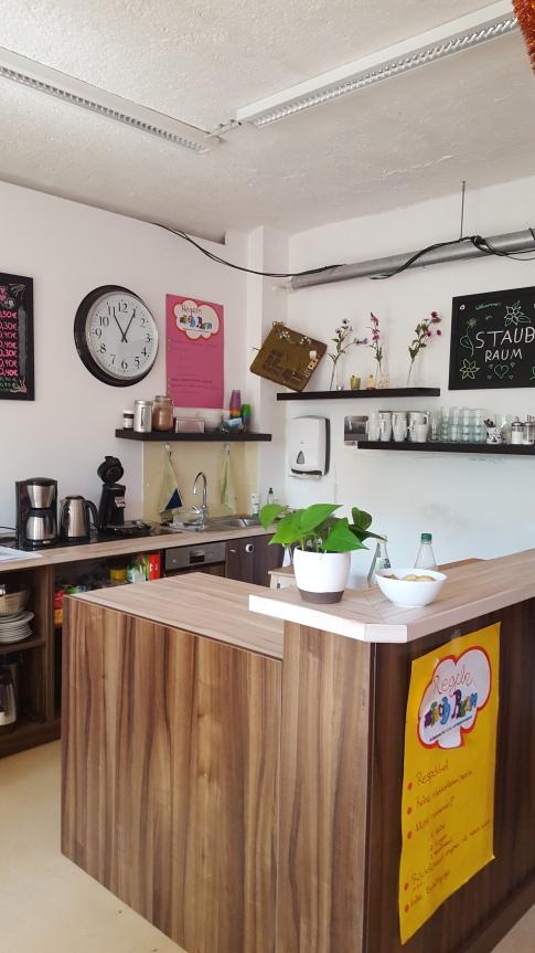 IGS Nordend - pokój dla uczniów - kawiarenka