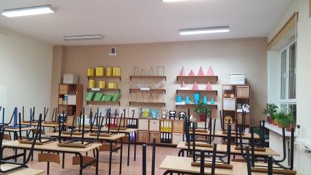 jedna z sal lekcyjnych