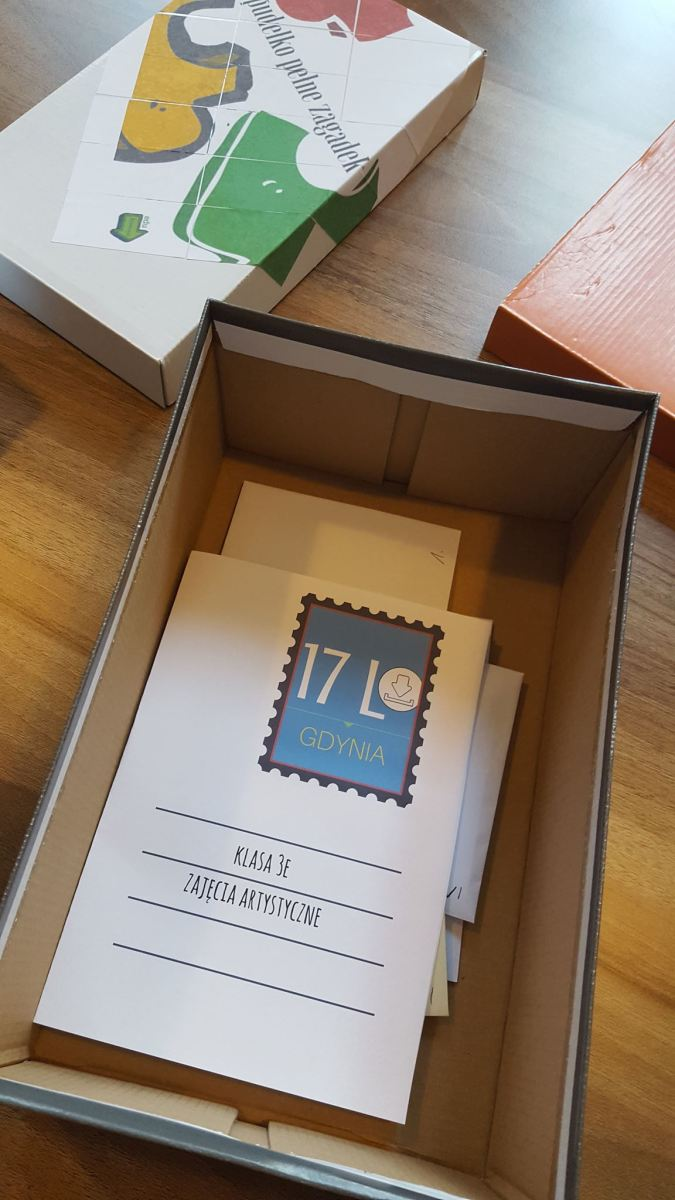 Pudełko pełne zagadek - pomysł na ciekawą lekcję